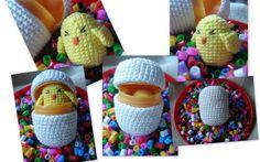 Kinder Surprise chick  by volinka / mira que manya, via Flickr