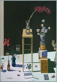 "buonfresco: "" Paul Wonner, ""Dutch"" Still Life, 1983 """