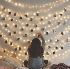 LED Photo Clip String Lights Holder Fairy Lights for Hanging Photos Pictures Cards Memos, RGB Warm White Decoration Light Led String Lights, String Lights Bedroom, Bedroom Fairy Lights, Lights For Room, Room Lights Decor, Christmas Lights Bedroom, Battery Lights, Light Decorations, Decorative Lights For Bedroom