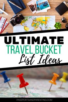 Ultimate travel bucket list ideas. These unique travel bucket list destinations will give you a great head start on planning your travels in 2021 and beyond. New Travel, Ultimate Travel, Family Travel, Travel Tips, Bucket List Destinations, Travel Destinations, Best Hotels In Amsterdam, European Destination, Free Things To Do