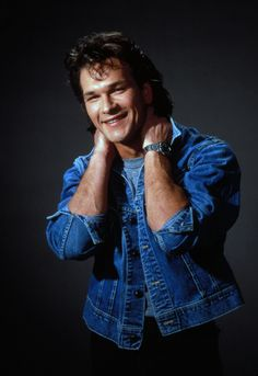 Patrick Swayze, male actor, dancer, artist, hands, arms, great smile, r.i.p., Dirty Dancing, North  South, portrait, photo