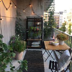 Sofie Andresen (@sofie_andresen) • Instagram-billeder og -videoer Teak, Patio, Balcony, Outdoor Decor, Instagram Posts, Urban, City, Home Decor, Decoration Home