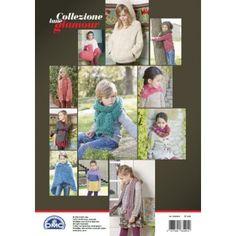 Le spiegazioni del modello sono nel Book 15 modelli Bambino Lana Glamour ref. 15100/4 DMC