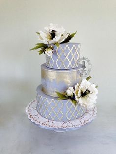 Lattice & Poppies - Cake by Firefly India by Pavani Kaur