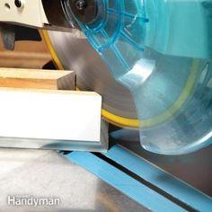 Woodworking Miter Saw How to Cope Baseboard Trim with a Miter Saw - Cope baseboard corners fast Mdf Trim, Baseboard Molding, Base Moulding, Moldings And Trim, Crown Molding, Wood Trim, Door Molding, Wainscoting, Interior Door Trim