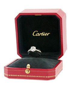 Cartier 1895 Solitaire Engagement Ring - Platinum & Diamond H Color Carats - Save on this stunning and timeless ring! - Cartier 1895 Solitaire Engagement Ring Platinum & Diamond H Color Carats Save off thi - Cartier Diamond Rings, Cartier Wedding Rings, Cartier Jewelry, Wedding Rings Solitaire, Jewellery, Wedding Band, Engagement Ring Buying Guide, Classic Engagement Rings, Platinum Engagement Rings