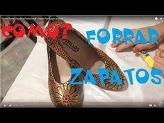 COMO FORRAR SAPATO QUE ESTA DESCASCANDO DE MANEIRA PROFISSIONAL - YouTube