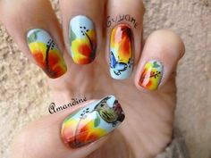 Amandine nail art concours Guyane