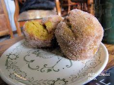 Faithfulness Farm: Cast Iron Cooking ~ Pumpkin Doughnut Muffins