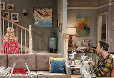 Bedroom inspiration. Howard and Bernadette\'s bedroom from The Big ...