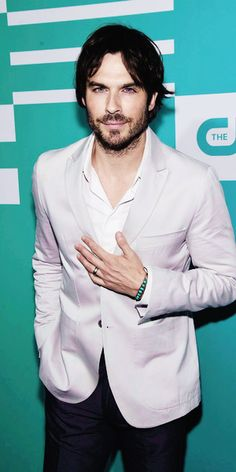 Ian Somerhalder attends the CW Network's 2015 Upfront // May 14, 2015