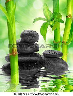 Resultado de imagen de piedras negras zen