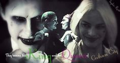 """""""They became the King and the Queen of Gotham City."""" - The Joker and Harley Quinn - Suicide Squad"""