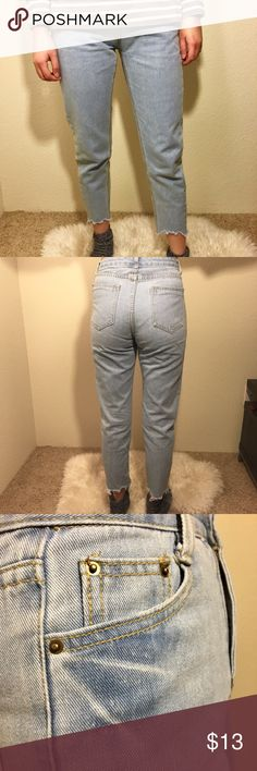Light Blue Jeans Size S Worn twice Jeans Ankle & Cropped