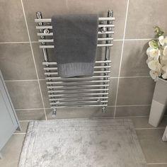 Family bathroom makeover – Pinkpeonyhome Family Bathroom, Stylish Home Decor, Tile Floor, Places, Diy, House, Bathroom, Bricolage, Home