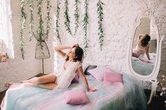 утро невесты, декор утра невесты, кровать, decor, wedding decor