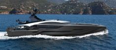 Palmer Johnson SuperSport Yacht - side view — Yacht Charter & Superyacht News Palmer Johnson Yachts, Supersport, Side View, Sailing, Aircraft, Luxury, Boats, Google Search, News