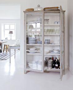 using dressers and amoires in kitchen | Kitchen Dresser on Pinterest | Welsh kitchen interior, Welsh kitchen ...