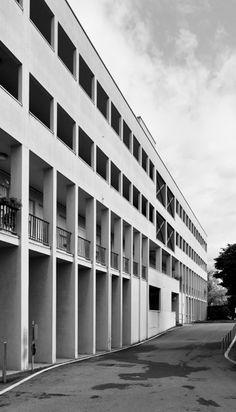 Complesso residenziale Monte Amiata nel quartiere Gallaratese 2 - Milano '60/'70: esperienze fuori contesto - itineraries - Ordine degli architetti, P.P.C della provincia di Milano