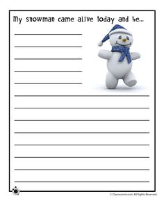 Three printable story starters with a winter theme. Writing Prompts For Writers, Picture Writing Prompts, Creative Writing Prompts, Writing Topics, Paragraph Writing, Story Prompts, 4th Grade Writing, Kids Writing, Writing Ideas