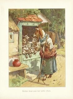 Mother Goat (link to Mother Goose stories)