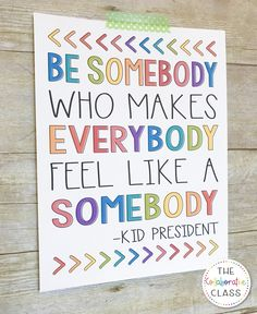 Movitate your students with these inspirational Kid President Quotes for the Classroom. They will provide your students with simple uplifting life advice. Encouraging Quotes For Kids, Motivational Quotes For Kids, Inspirational Teaching Quotes, Inspiring Quotes For Students, Kid Quotes, Greek Quotes, Positive Quotes, Class Quotes, School Quotes