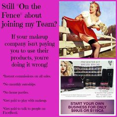 If your makeup company isn't paying you to use their products, you're doing it wrong! Click here to change that. www.lovemakeuplovelife.wordpress.com