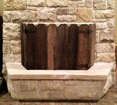 Jaw-Dropping Cool Tips: Country Fireplace Seating Areas open fireplace tile.Fireplace And Mantels Traditional fireplace tile building. Pallet Fireplace, Country Fireplace, Basement Fireplace, Cottage Fireplace, Fireplace Seating, Fireplace Bookshelves, Fireplace Cover, Victorian Fireplace, Concrete Fireplace