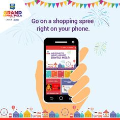 The largest online shopping festival is back. Now, your mobile will turn into the largest shopping destination.