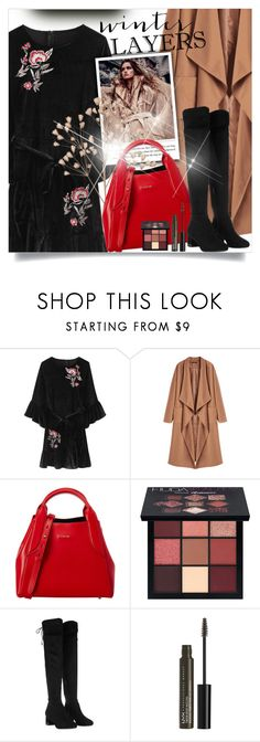 """Untitled #809"" by beautifulplace ❤ liked on Polyvore featuring Lanvin, Huda Beauty, Michael Kors and NYX"