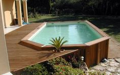 1000 images about piscinas on pinterest john pawson for Piscina elevada madera