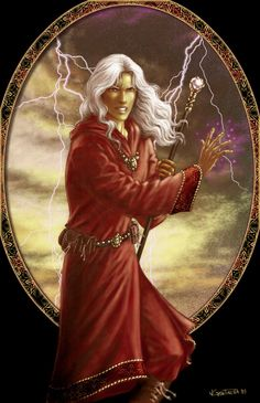 "Raistlin Majere from the Dragonlance series. My favorite wizard and pretty much the only ""real"" book I've read in a while. (My friends/family say manga aren't real books but whatever.)"