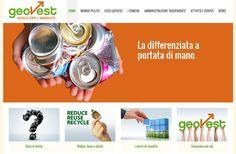#Geovest è la prima s.r.l. dell'Emilia Romagna a erogare servizi pubblici per la tutela dell'#ambiente. Ha come obiettivi quelli di creare una forte sensibilizzazione del risparmio energetico e del corretto smaltimento dei rifiuti, mirando al #rispetto nei confronti della collettività e dell'ambiente.  Noi ci siamo occupati della realizzazione del #sitoweb, dalla cura del testo agli aspetti di #grafica e #programmazione.