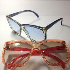 Christian Dior vintage oversize sunglasses by GreenFlamingoVintage, €120.00