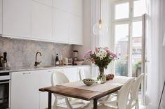 Femenino y elegante mini apartamento | Decoración
