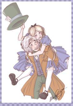Alice and Reggie by Mandy-Mo.deviantart.com on @DeviantArt