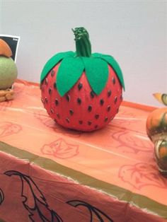 """""""Pumpkin Carving Contest: Strawberry fields forever"""""""