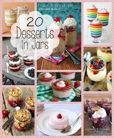 Desserts in a Jar - Made to be a Momma.