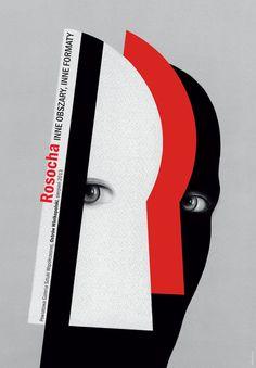MEDALLA DE ORO. Wieslaw Rosocha | 24º Bienal Internacional del Cartel de Varsovia. International Poster Biennale in Warsaw.