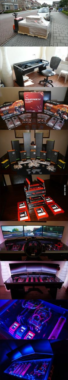 Very nice set-up! I have to say im a little jealous :P
