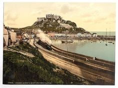 [Jersey, Gorey and the castle, Channel Island]  (LOC)