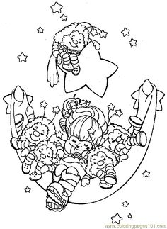 Rainbow brite Coloring Pages Online | ... coloring page Rainbow Bright Coloring Page 11 (Cartoons > Rainbow