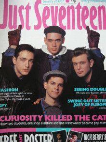 Just Seventeen.  It seemed so grown- up!