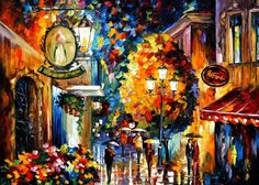 PRODUCT DESCRIPTION      Title: Cafe In The Old City — PALETTE KNIFE Oil Painting On Canvas    Size: 60cm x 50cm (24″x20″)    Condition: Excellent Brand New    Medium: 100% hand painted oil painting on Canvas – Recreation of an older painting    Signature: Signed by the Artist    Frame: Gallery Wraped and Ready to Hang         About this oil painting:    CAFE IN THE OLD CITY    PLACE OF EVERY STORY    All citizens, especially those who live in the same city for generations and those who…