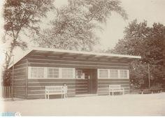 Nakskov -Tennishus på Skibsværftsvej (1930)