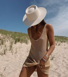 Summer Feeling, Summer Vibes, Danielle Bernstein, Best Swimsuits, Beach Babe, Long Beach, My Wardrobe, Panama Hat, Free People