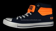 c71c3097b6a2cd FL Unlocked Converse PC Primo High Navy Orange 07 Black Neon
