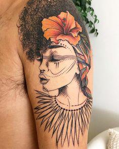 """Tatuagens Femininas ≛ Tattoo's on Instagram: """"Conheça a Artista @Gizeletattoo • Especialiata em traços finos. Criações de desenhos autorais e exclusivas! 📎 Agenda abre dia 20 de julho…"""" #girltattoos Afro Tattoo, La Tattoo, Piercing Tattoo, Cute Tattoos, Body Art Tattoos, New Tattoos, Dream Tattoos, Tattoo Drawings, Sleeve Tattoos"""