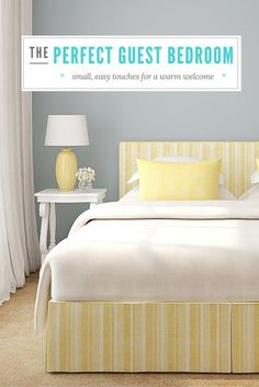 How to Create a Perfect Guest Room for Holiday Guests | eBay