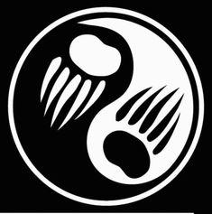 bear claw ying yang